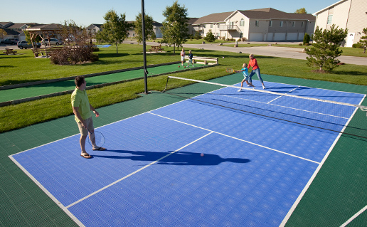 Tennis Our Sport Court Is Perfect For A Quick Volley Or Long Compeive Matches